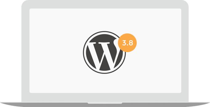 WordPress 3.8, wat is er nieuw?